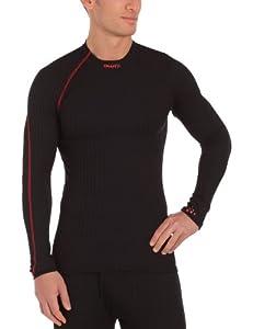 Craft Zero Extreme Sous-vêtement col ras de cou manches longues homme Noir/Lave XS