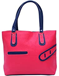 Darash Fashion Women's Stylish Handbag Pink-Bag-44