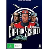 Gerry Anderson's Captain Scarlet - Complete Series - 5-DVD Set ( Captain Scarlet and the Mysterons ) ( Captain Scarlet )by Charles 'Bud' Tingwell