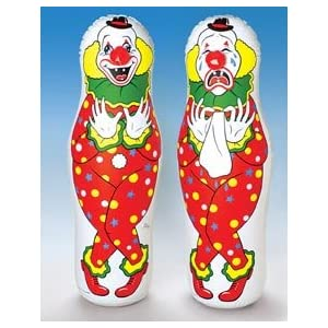 Clown Bop Bag - Punching Clown