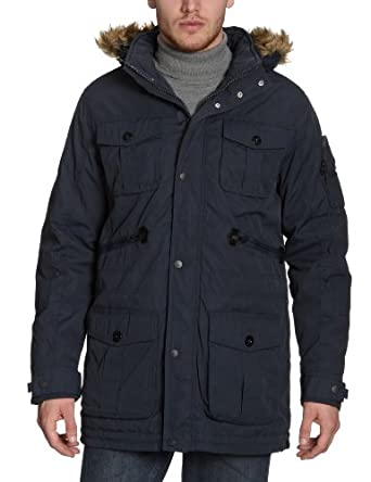 tom tailor herren parka 35196790010 fancy parka gr 48 m grau 2128. Black Bedroom Furniture Sets. Home Design Ideas