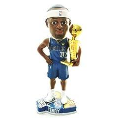 DALLAS MAVERICKS #31 JASON TERRY NBA OFFICIAL 2011 CHAMPIONSHIP TROPHY BOBBLEHEAD... by FOREVER