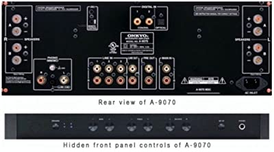 Onkyo A9070 Stereo Integrated Amplifier from Onkyo
