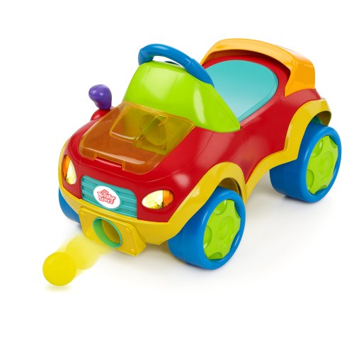 Bright Starts Pop and Roll Roadster Toy - 1