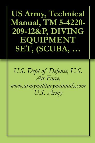 US Army, Technical Manual, TM 5-4220-209-12&P, DIVING EQUIPMENT SET, (SCUBA, TYPE B), (NSN 4220-01-023-1701), COMPRESSOR, RECIPROCATING, POWER DRIVEN; ... AND COMMERCIAL TRAILER CT-1), PAR