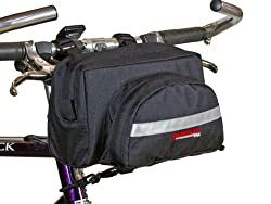 Bushwhacker Durango Black - Bicycle Handlebar Bag Cycling Front Pack Bike Bag