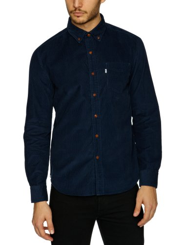 Levi's Long Sleeve One Pocket Men's Shirt Dress Blues XX-Large