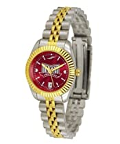 Troy University Trojans Ladies Gold Dress Watch