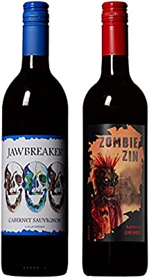 Macabre Wine Mixed Pack Non Vintage California Cabernet Sauvignon, Zinfandel 2 x 750 ml from Chateau Diana Winery