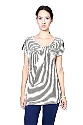 Annabelle by Pantaloons Women's T-Shirt_Size_X-Small