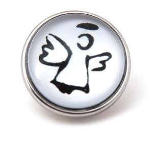 "Chunks Chunk "" Schutzengel "" für Armband & Kette Druckknopf charms Click Button"