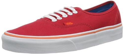 Vans U AUTHENTIC  LOLLIPOP/NEON C,  Sneaker da Donna, Rosso (RED), 36