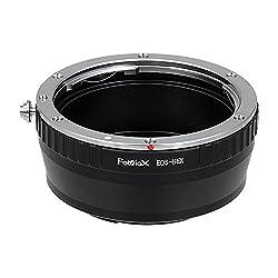 Fotodiox Lens Mount Adapter, Canon EOS Lens to Sony Alpha NEX E-Mount Camera, for Sony Alpha NEX-7, NEX-6, NEX-5N, NEX-5, NEX-C3, NEX-3
