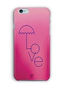 YuBingo Love Umbrella Mobile Case Back Cover for Apple iPhone 6S