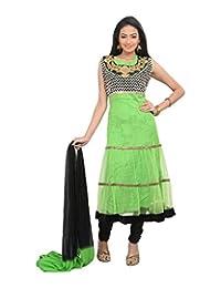 Sareeshut Women's Net Regular Fit Anarkali Suits