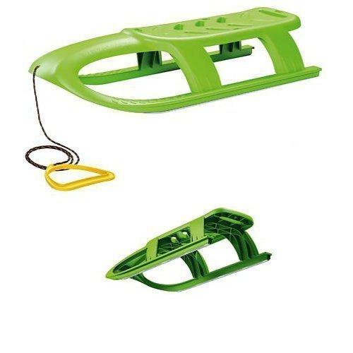 Enfants-Luge-de-course-arodynamique-vert
