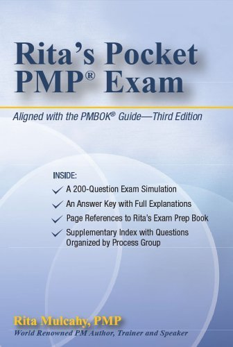 Rita's Pocket PMP Exam Poc edition by Rita Mulcahy