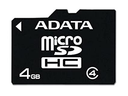 AData 4GB Class 4 MicroSDHC Memory Card