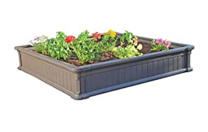 Lifetime Products 60065 Raised Garden Bed, 1-Bed