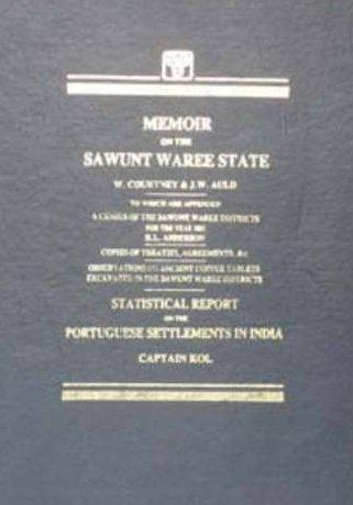 Memoir on the Sawunt Waree State