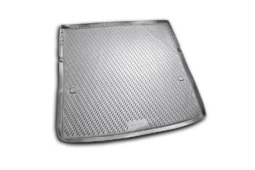 Novline CARNIS10036 Infiniti QX56 and Nissan Patrol (With 3rd Row Seat Folded Down) Cargo Liner - Cargo Tray - Cargo Mat - 2011-2013 - Black (Nissan Patrol Accessories compare prices)