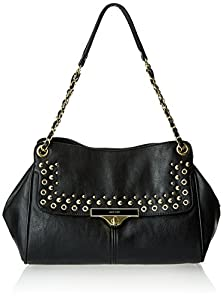 Nine West Abigail 60337828 Shoulder Bag,Black/Black,One Size