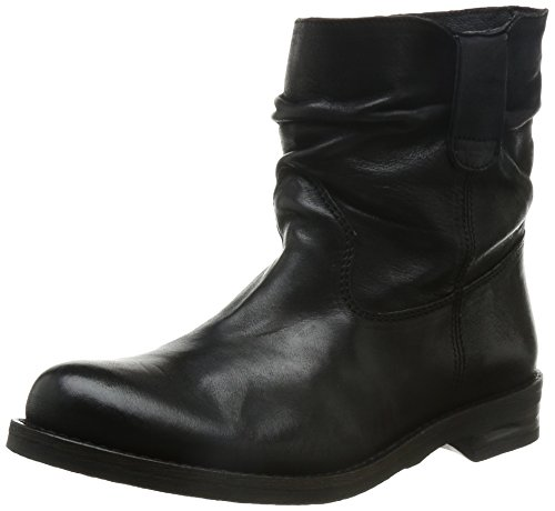 Buffalo London ES 30492 MEXICO - Stivali a Gamba Larga Donna, Nero (PRETO 01PRETO 01), 38 EU