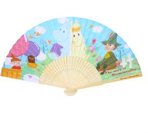 The Story Of Moomin Valley Snufkin Little My Handheld Folding Paper Fan