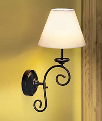 New remote control cordless vintage wall lamp sconce light for Cordless wall light fixtures