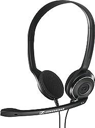 Sennheiser PC 8 Over-Ear USB VOIP Headphone with Mic (Black)