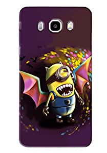 Blue Throat Minion Flying Printed Desginer Back Cover/Case For Samsung Galaxy J5 2016