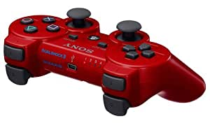 Manette PS3 Dual Shock 3 - rouge