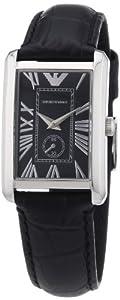 Emporio Armani Damen-Armbanduhr Classic Marco Analog Quarz Leder AR1636