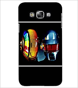 PrintDhaba MultiColour Mask D-1410 Back Case Cover for SAMSUNG GALAXY GRAND 3 (Multi-Coloured)