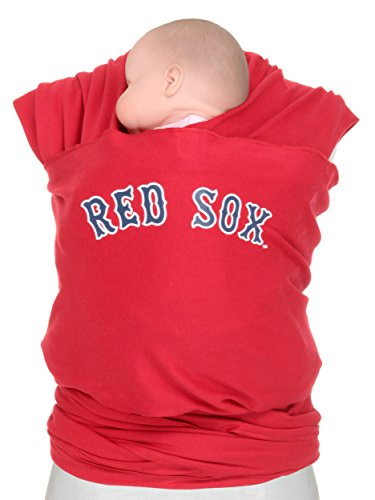 Moby Wrap Mlb Edition Baby Carrier, Boston Red Sox, Red front-598366
