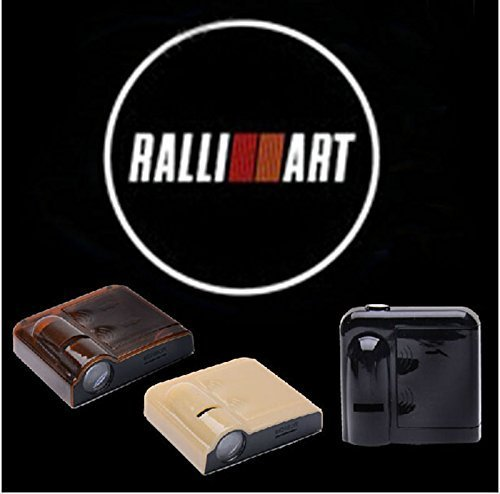 2PCS 5W Universal Wireless No Drill Magnetic Car LED Door Welcome Projector Logo Ghost Shadow Laser Lights for MITSUBISHI RALLI ART (Mitsubishi Welcome Lights compare prices)