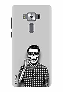 Noise Designer Printed Case / Cover for Asus Zenfone 3 Deluxe ZS570KL with 5.7 Inch screen size/ Patterns & Ethnic / Skull Design