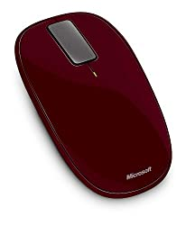 Microsoft Explorer Touch Mouse - Sangria Red