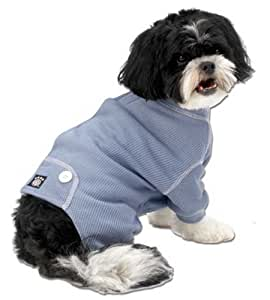 Amazon.com : PetRageous Cozy Thermal Pajamas for Pets, Small, Blue