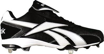 Reebok Men's Vero IV Low M5 Baseball Shoe,Black/White,11.5 M US