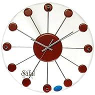 Safal Wooden Wall Clock (35.56 Cm X 35.56 Cm)