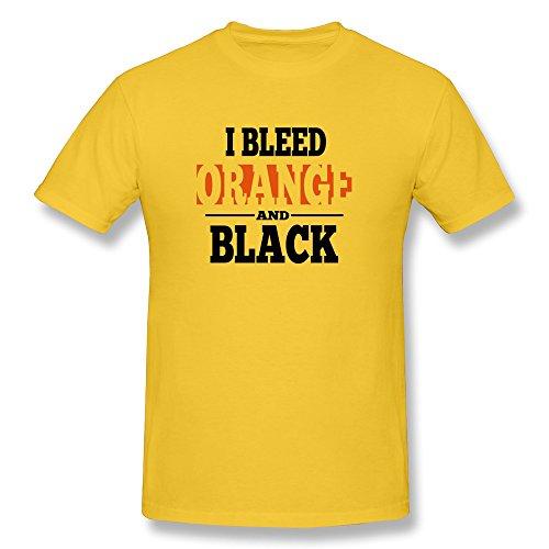 Bleed Orange Black Boy New T Shirts