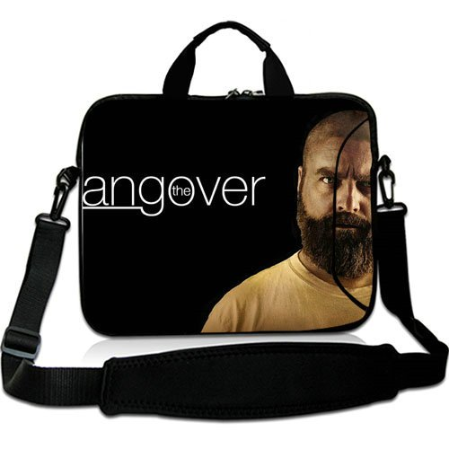 Customized 10 Inch Adjust Shoulder Laptop Carrying Bag With The Hangover Alan Zach Galifianakis Neoprene Laptop Sleeve for 10 10.1 Inch Laptop Bag(Twin Sides)