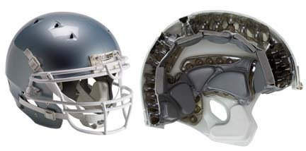 Youth DNA™ Recruit® Hybrid Helmet (Medium) from Schutt