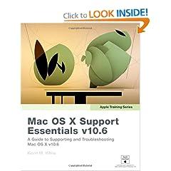 Apple Training Series: Mac OS X Support Essentials v10.6
