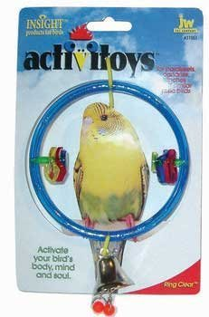 Cheap Top Quality Insight Bird Toy Ring Clear (TDPS8470)