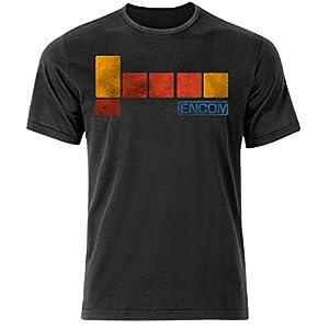 Encom Tron Movie Inspired T Shirt (S-3XL) Flynns Arcade