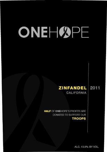 ONEHOPE 2011  California Zinfandel 750 mL