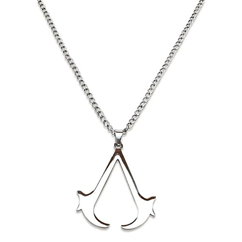 Assassin's Creed Silver Tone Pendant