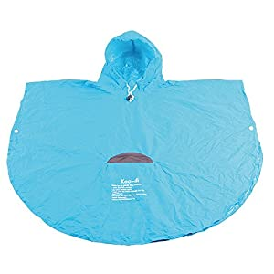 Koo-di Rainy Day Poncho (Blue)